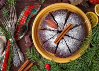 Diabetes friendly Christmas cake